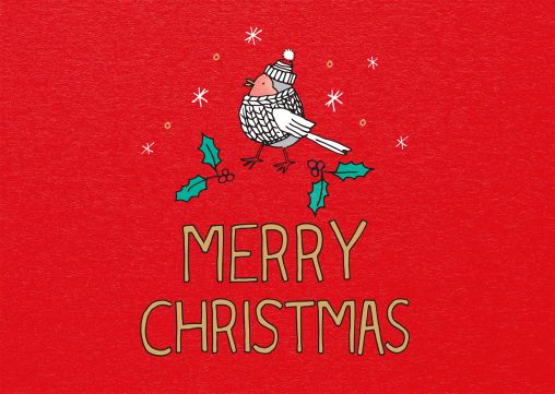 Pack of 10 Peace on Earth Christmas Cards.