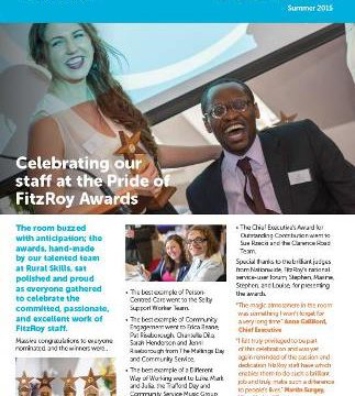 FitzRoy News Summer 2015
