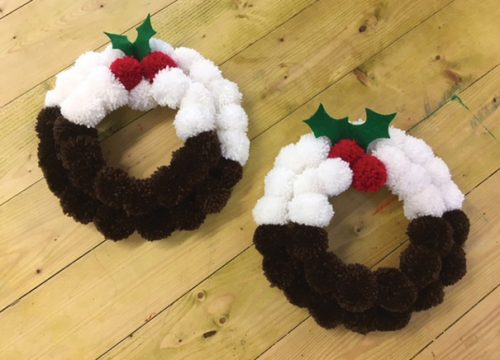 FitzRoy's Pop Up Shop - Christmas Pudding Wreaths
