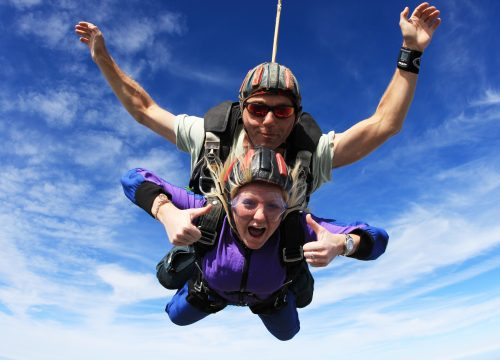 New Year Challenge – Summer Solstice Skydive