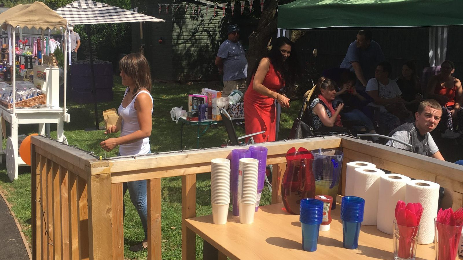 Southbank Residential Service Sensory Garden Party