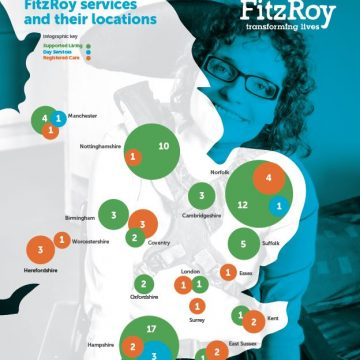 Map of FitzRoy Services
