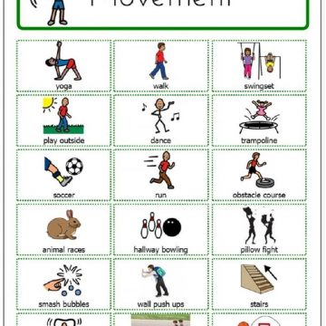 Movement Activities and Symbols